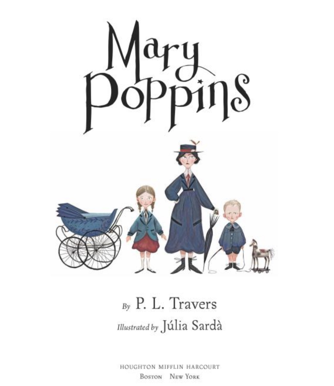 PL Travers Mary Poppins Julia Sarda title page