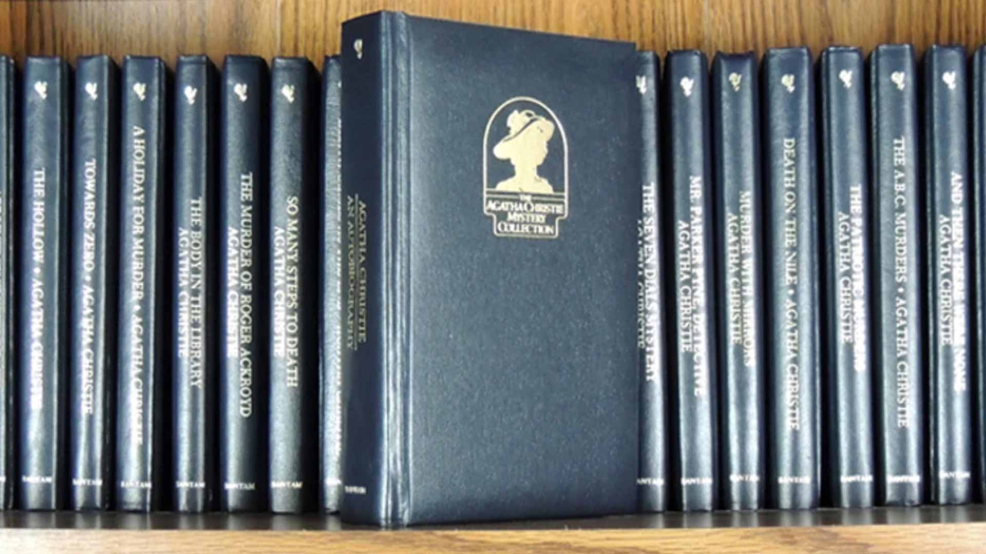 Agatha Christie Mystery Collection Bantam Books Beautifulbooks Info