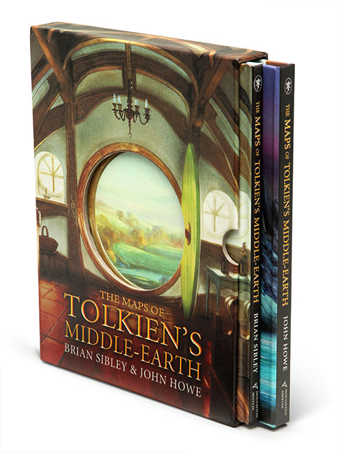 maps of middle earth box set