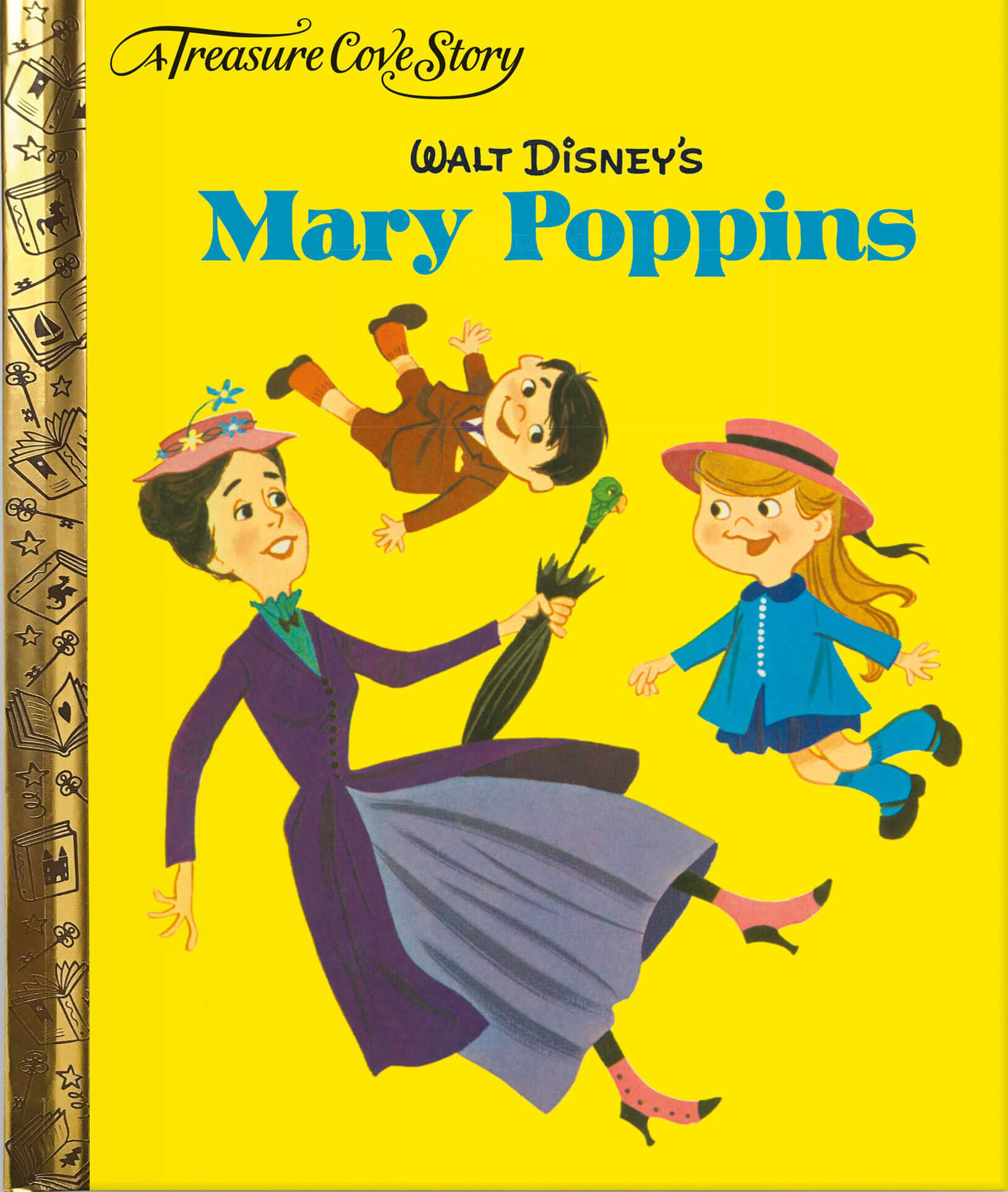mary poppins treasure cove disney cover