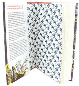 silence of the girls endpapers