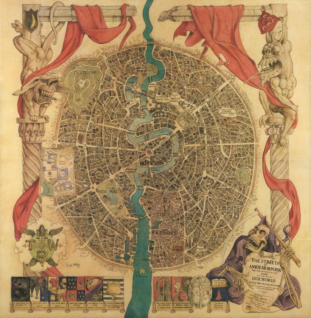 streets of ankh morpork map
