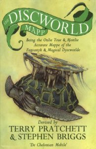 terry pratchett discworld map cover