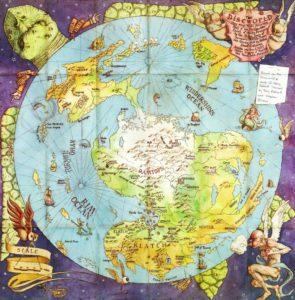 terry pratchett discworld map full