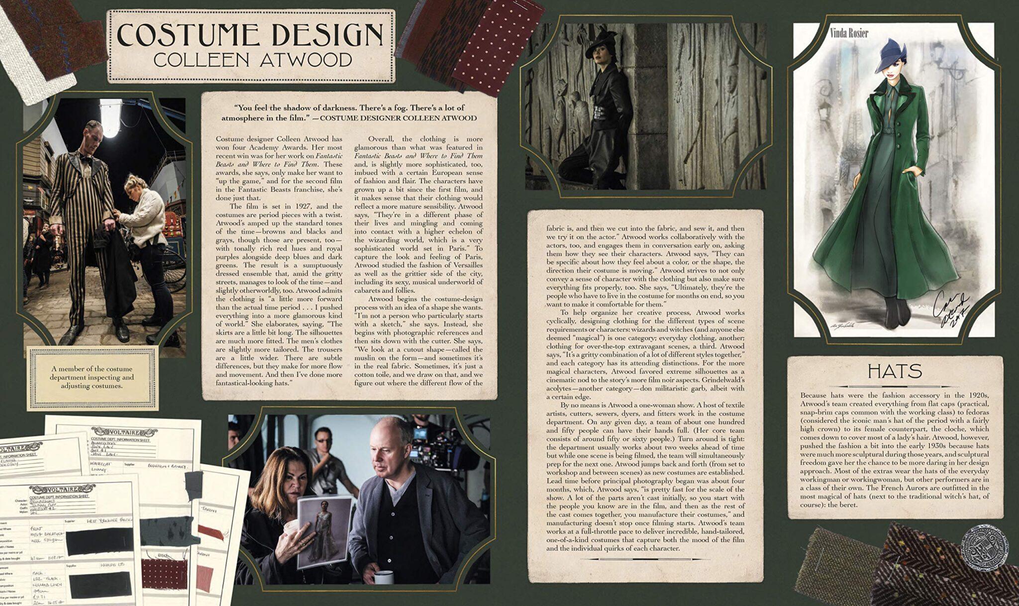 the archive of magic costume design