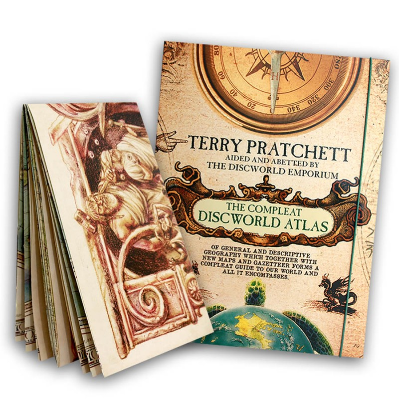 the compleat discworld atlas and map
