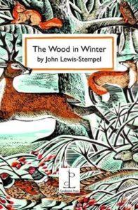 wood in winter card
