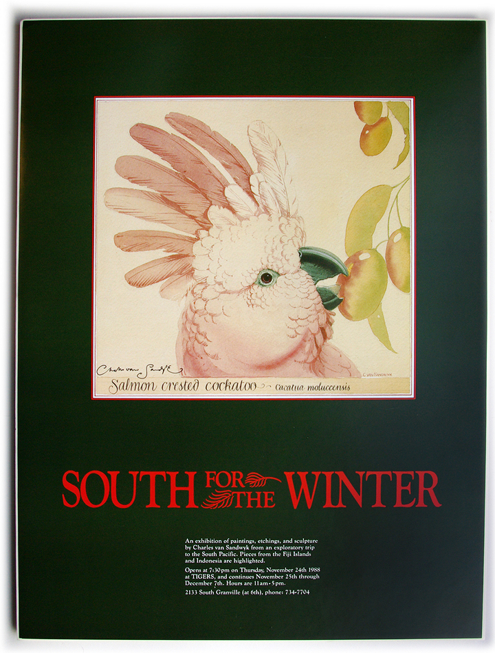 1988 south for the winter poster