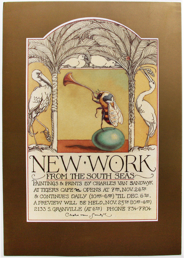 1992 new work from the south seas poster