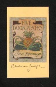 1993 CVS Five Bookplates