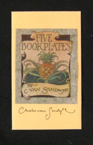1993 CVS Five Bookplates
