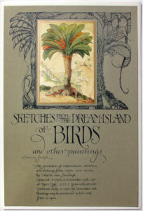 1995 CVS Sketches from the Dream Island of Birds poster