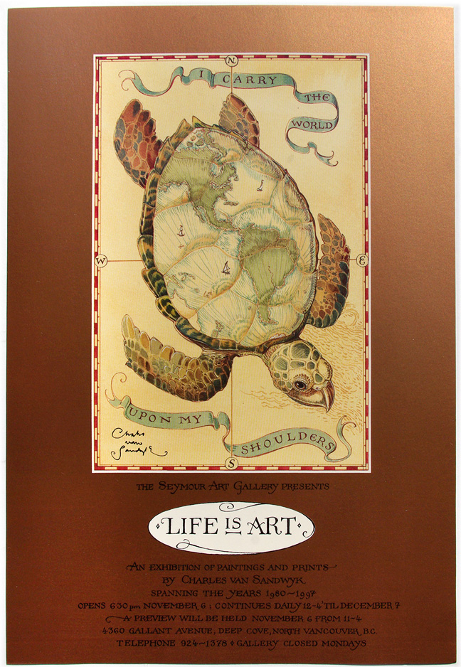 1997 life is art poster