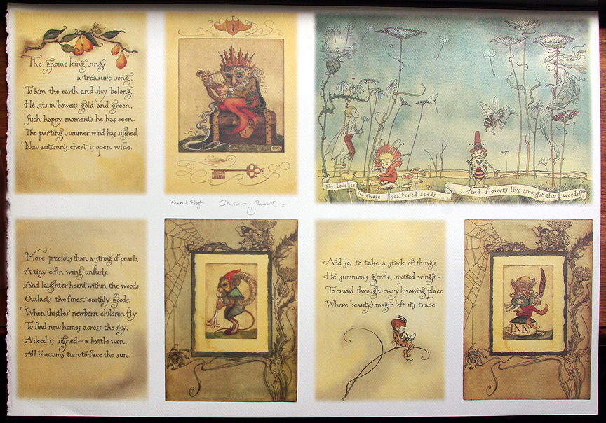 2000 CVS Gnome Kings Treasure Song Press Proof