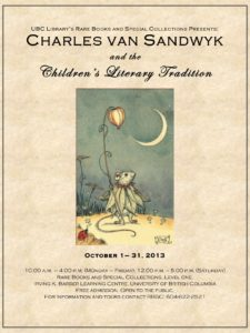 2013 CVS and the Childrens Literary Tradition poster 1