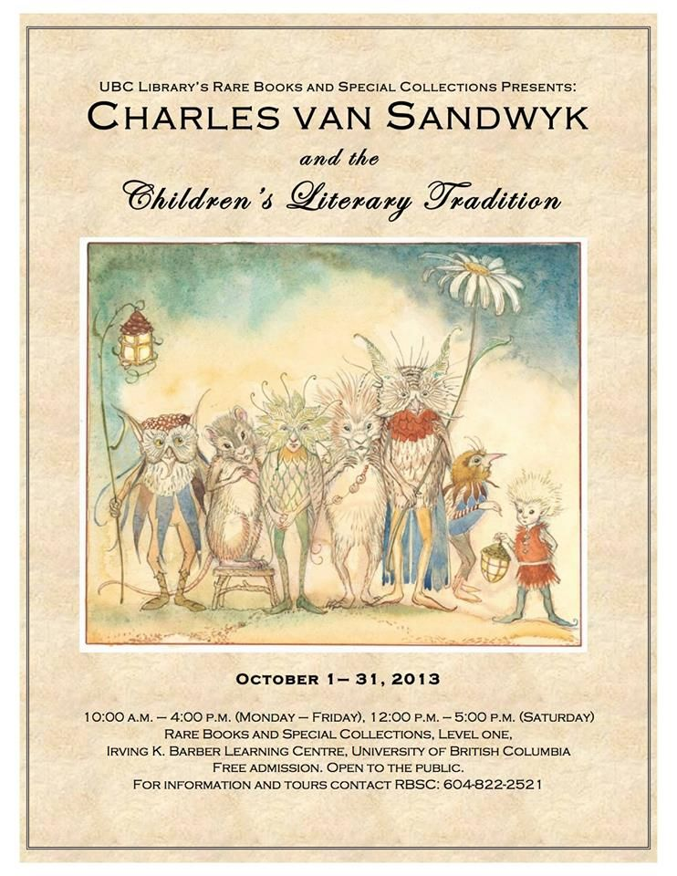 2013 CVS and the Childrens Literary Tradition poster 2