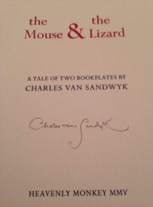 2015 CVS Mouse Lizard