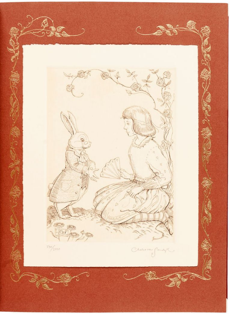 2016 CVS FS Alice in Wonderland etching cvs carousel