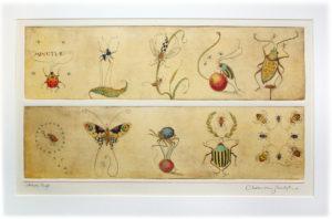 CVS Art Minutiae etching cvs carousel