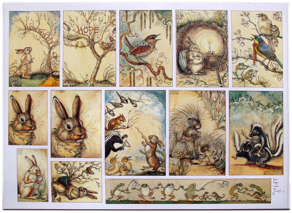 CVS Mr Rabbits Symphony of Nature printers proof