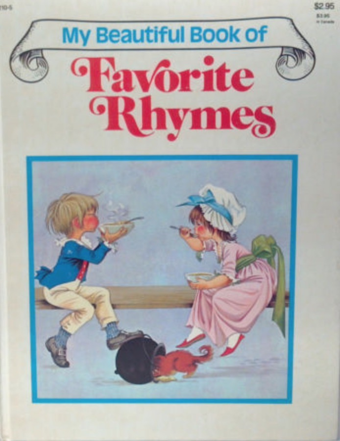 GJT My Beautiful Book of Favorite Nursery Rhymes