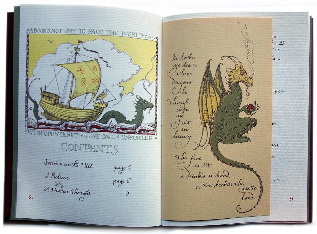 Reading dragon internal spread cvs carousel