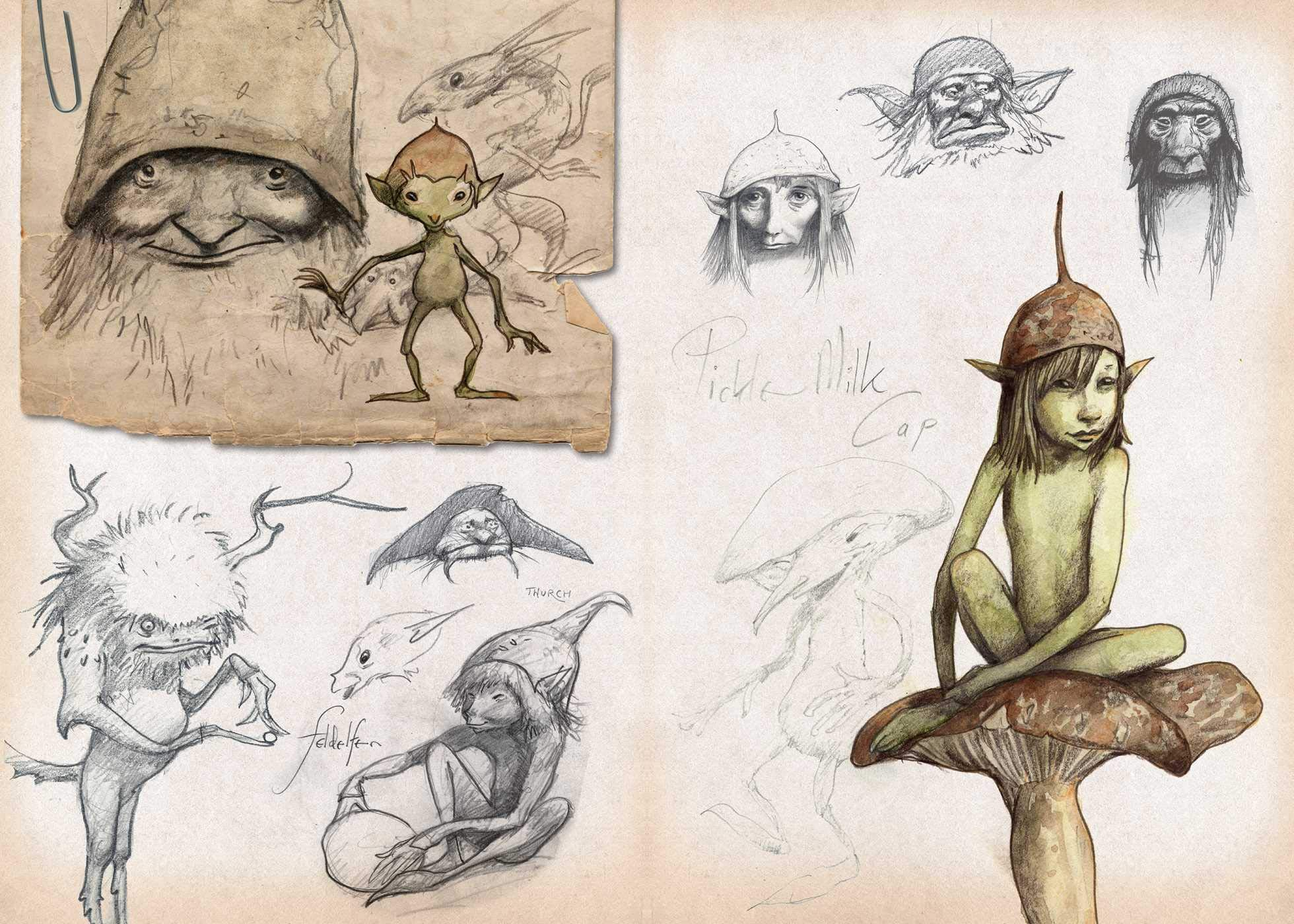 brian froud sketchbook int