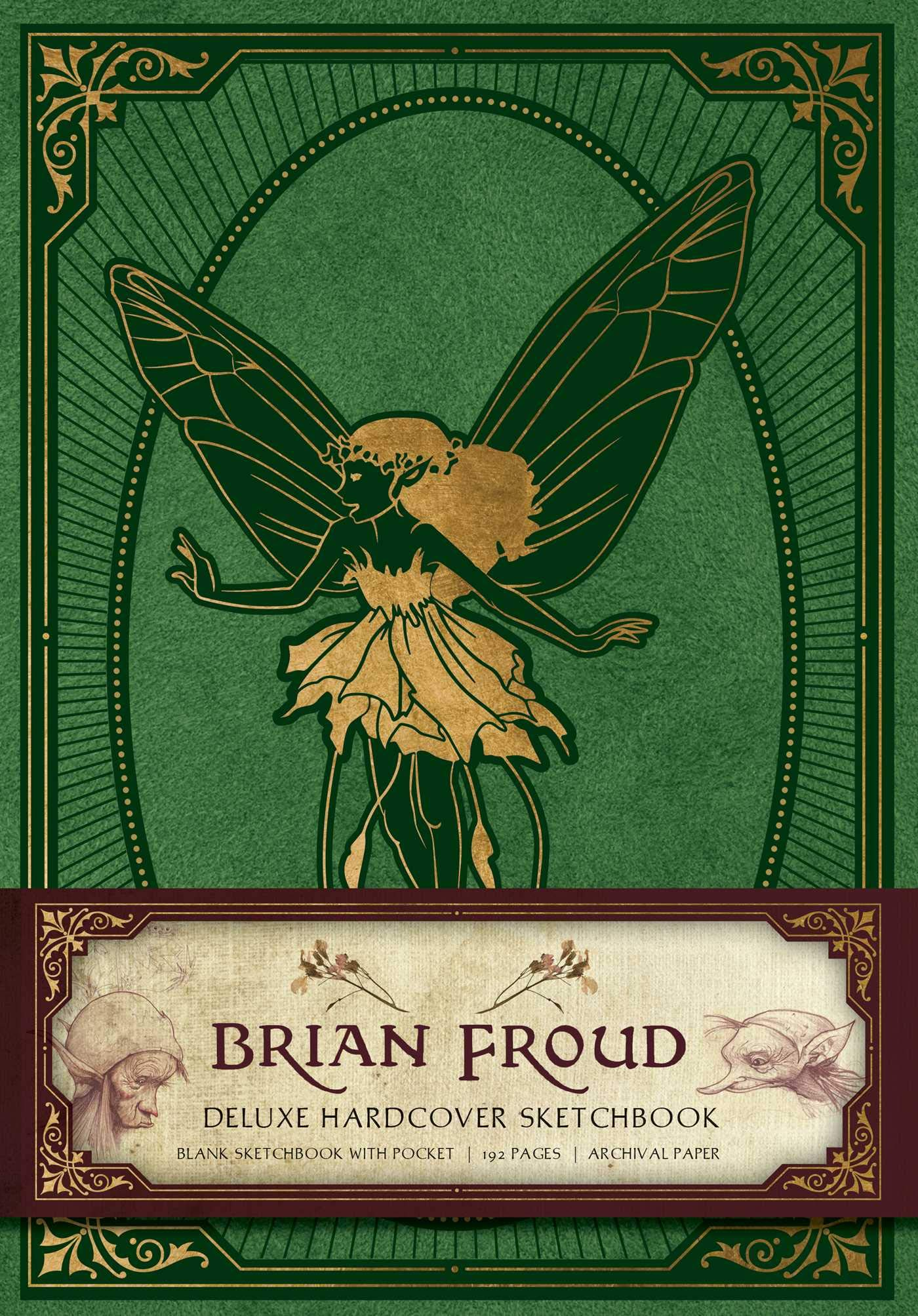 brian froud sketchbook