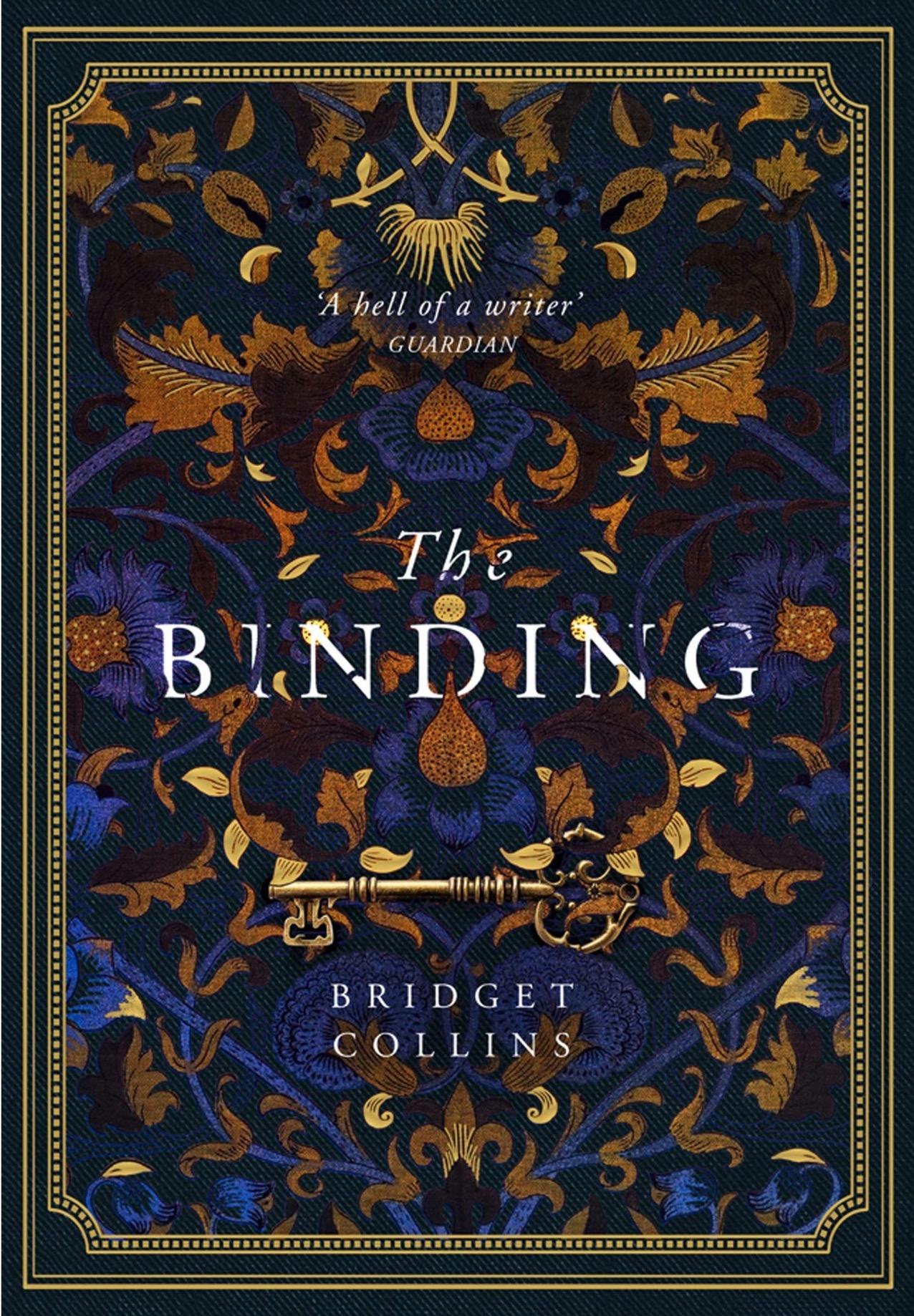 bridget collins the binding uk cover
