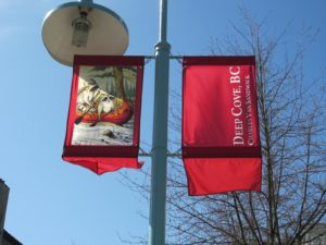 deep cove raccoon banners