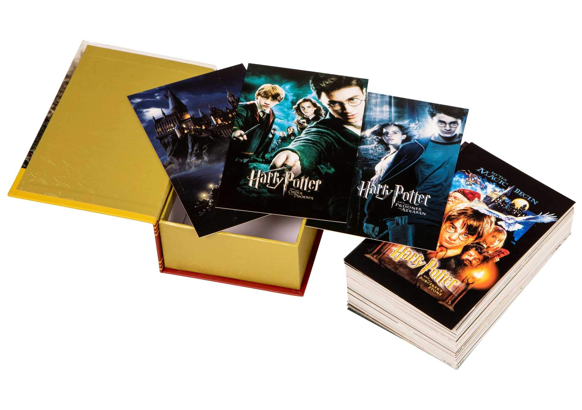 harry potter postcards box 2