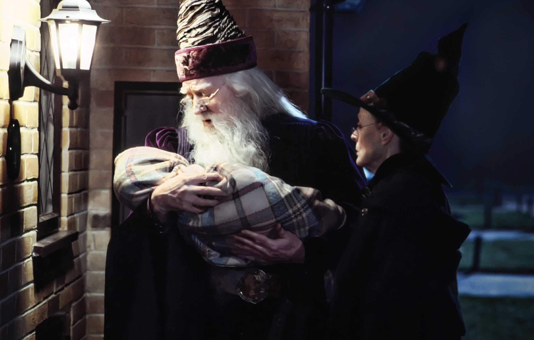 harry potter postcards dumbledore