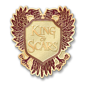 king of scars pin