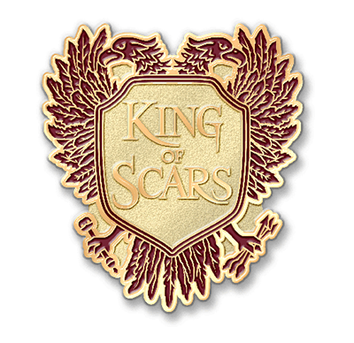 king of scars pin