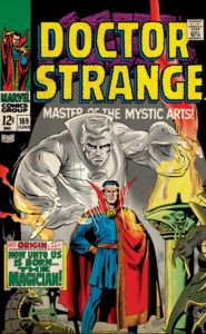 marvel comics postcards dr strange