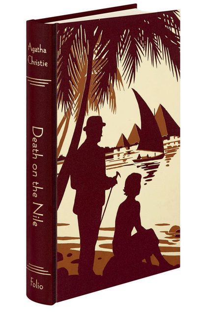 Agatha Christie FS Andrew Davidson Poirot Death on the Nile Cover