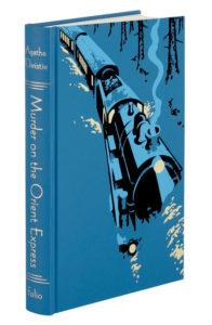 Agatha Christie FS Andrew Davidson Poirot Murder on the Orient Express Cover