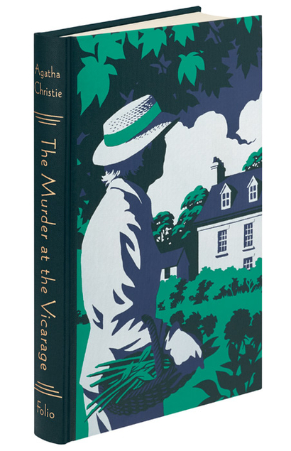 Folio Society Agatha Christie Andrew Davidson Marple The Murder at the Vicarage