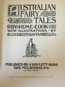 Hume Cook Christian Yandell Australian Fairy Tales Title sm