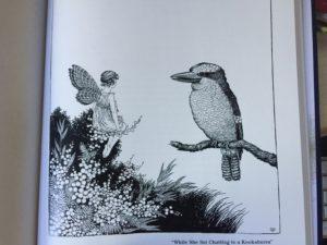 Ida Rentoul Outhwaite Fairyland Chatting with a Kookaburra