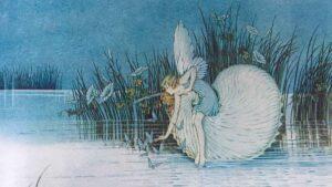 Ida Rentoul Outhwaite Fairyland Nautilus Fairy sm