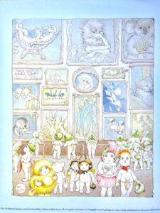 May Gibbs Snugglepot Cuddlepie Art Gallery Print sm
