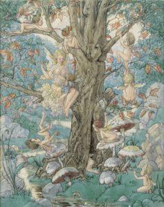 harold gaze the fairy tree