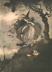ida rentoul outhwaite elves fairies witch sm