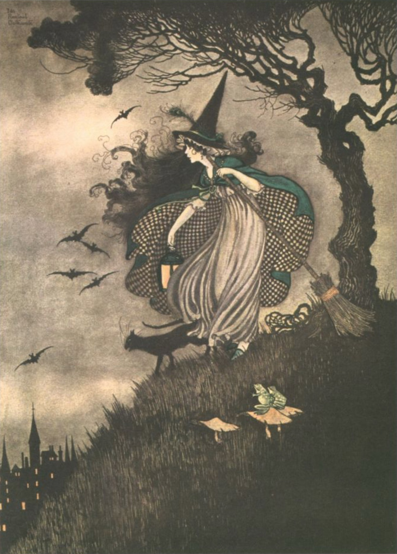ida rentoul outhwaite elves fairies witch