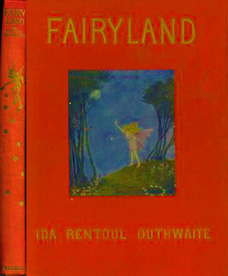 ida rentoul outhwaite fairyland deluxe red