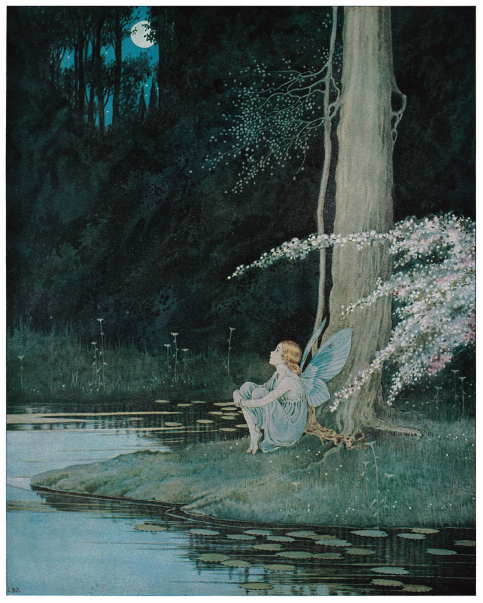ida rentoul outhwaite fairyland nightingale