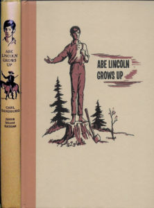 JDE Abe Lincoln Grows Up Carl Sandburg FULL Cover