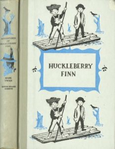JDE Adventures of Huckleberry Finn FULL grey cover