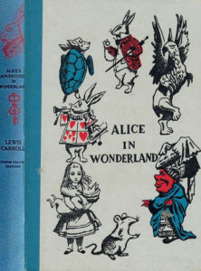 JDE Alice in Wonderland Tenniel FULL cover